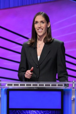 """For Immediate Release - Rebecca Lobo to play """"Jeapordy"""".  Winnings to benefit St. Mary's School!"""